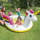 Intex Unicorn Inflatable Baby Spray Swimming Pool Family Fun FREE Shipping