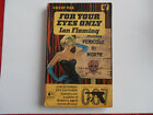 JAMES BOND FOR YOUR EYES ONLY BY IAN FLEMING PAN 1st EDITION PB