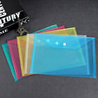 Plastic A4 Paper Expanding File Folder Pocket Document Organizer Envelope Office