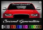 40 Second Generation Jdm Street Racing Race Car Decal Sticker Windshield Banner