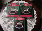 THREE HALLMARK  ROCKING HORSE ORNAMENTS - 1990,1991 & 1992 - CHECK THEM OUT
