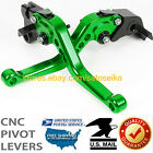 LA-US For Kawasaki ZX6R / 636 / Z1000 2007-2017 CNC Adjust Brake Clutch Levers