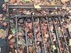 Architectural Salvage Wrought Iron Fence,  Two Panels, Dim Are 104 X 82