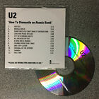 U2 - How To Dismantle An Atomic Bomb. 12 track promo CD (2004) RARE!