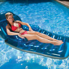 Adjustable Oversize Chaise Floating Upright Reclining Swimming Pool Lounge Float