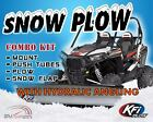 KFI 66 Hydraulic Angle Steel Plow Kit For 2005 2016 Kawasaki Mule 600 UTV