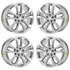 19 MERCEDES GLE 300d 350 550e PVD CHROME WHEELS RIMS FACTORY OEM SET 85487