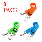 3 X Colorful Dog Pet Safety Adjustable Car Seat Belt Harness Leash Travel Lead