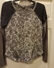 Super CUTE MISS ME long sleeve with zippers sz small VG preowned condition