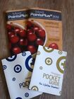Set of Two Weight Watchers 2012 Points Plus Program books and two pocket guides