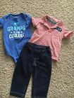 Carters Baby Boy 12 Month Outfit Set
