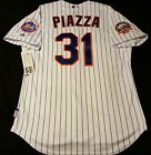 NEW, NEW YORK METS AUTHENTIC JERSEY, 48 XL MIKE PIAZZA COOL BASE MAJESTIC
