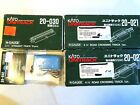 Kato N scale track 2 road crossings pack of 10 2 1 4  st 1 DC converter