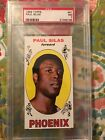 1969 Topps Paul Silas Rookie #61 NM PSA 7