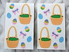 EASTER BASKET EGGS  BOWS SCRAPBOOK STICKER LOT BY MRS GROSSMANS ACID FREE NEW