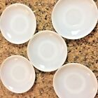 Lot of 5 - Vintage Fire King Oven Ware White Milk Glass 5.75