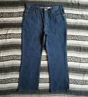 Vintage USA Levis 517 Sz 40 x 30 Boot Cut Denim Jeans Dark Wash Indigo Rigid