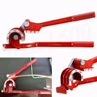 180° ATV Motorcycle Pipe Angle Bender Hose Tube Brake Fuel Line Bending Tool 1x