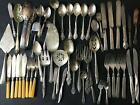 VTG Mixed Replacement Lot Silverplate Flatware Serving Utensils Rogers Community