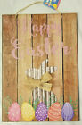 Happy Easter Hanging Sign Decor 95 X135 w