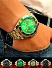 Watch SUBMARINER-GOLD Nautica-sea Date display with v.Cyclope MOV. quartz
