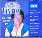 BOBBY VINTON All Time Greatest 3CD Classic Rock BLUE VELVET ROSES ARE RED Rare