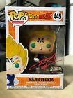 FUNKO POP MAJIN VEGETA OVER 9000 RED AUTOGRAPHED 2018 NYCC COMIC CON EXCLUSIVE