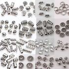 20 50 100x Tibetan Silver Metal Loose Tube Spacer Beads Jewelry Making Charms A+