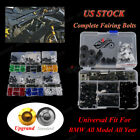 CNC Generic Motorcycle Fairing Bolt Kits For BMW HP2 SPORT 2008 2009 2010 2011