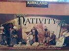 KIRLAND 20 PIECE NATIVITY SET SIGNATURE FABRIC MACHE in Box 404603