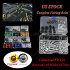 CNC Universal Motorcycle Fairing Bolt Kit For Kawasaki Ninja 250R 13 14 15 16 17
