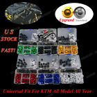 Fairing Bolt Kit Motorcycle Screw Clips For KTM 1190 990 Super RC8 RC390 RC200