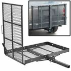Durable Mobility Carrier Wheelchair Electric Scooter Rack Hitch Medical Ramp