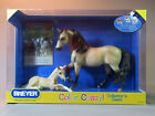 Breyer Color Crazy Mare  Foal Traditional Horse 19 Scale 2007 NIB NR DISC 1325