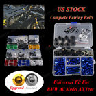 CNC Universal Motorcycle Fairing Bolt Kit Bodywork Screws For BMW R1200RT 05-15