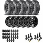 JEGS 681110K45 Jeep Wheel and Tire Kit 1987 2006 Wrangler YJ TJ 1984 2001 Cherok