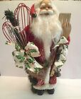 21 inch Standing Santa Claus Figure Table Kitchen Doll Xmas Home Decor