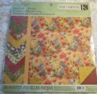 Meadow 12x12 Designer Double Sided Cardstock Paper Pad by KCompany Susan Winget