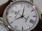 Maurice Lacroix Pontos Date 18K Gold & Steel Mens 38mm Watch