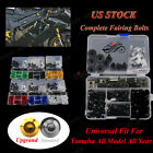 CNC Universal Motorcycle Fairing Bolt Kits For Yamaha Tmax530 TDM 850 900 FZR600