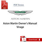 Aston Martin Virage Owner's Manual