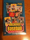 2018 Topps Archives Baseball Hobby Box 24 Packs 2 Autos Per Box Factory Sealed