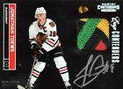 Jonathan Toews 2011-12 Panini Cup Contenders - Patch & On Card Auto - 30 50