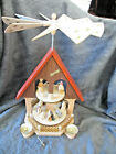 ERZGEBIRGE Germany Pyramid Nativity Carousel Richard Glasser Excellent SR