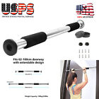 Heavy Duty Pull Up Chin Up Bar Doorway Home Door Exercise Sports Gym Mounted US