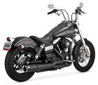 Vance  Hines Pro Pipe Black Exhaust For 2012 2014 Harley Dyna Wide Glide FXDWG