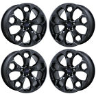 19 FORD ESCAPE BLACK CHROME WHEELS RIMS FACTORY OEM SET 3947