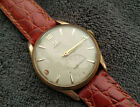 Omega Classic Men's wrist watch1956 Ref: 2893-1 80 Microns Gold Plated Cal.267
