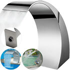 Swimming Pool Waterfall Feature Stainless Steel Water Fountain Spillway