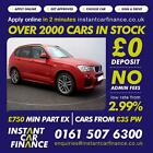 BMW X3 20TD 4X4 Auto 2014MYxDrive20d M Sport CAR FINANCE FROM 91 PER WEEK